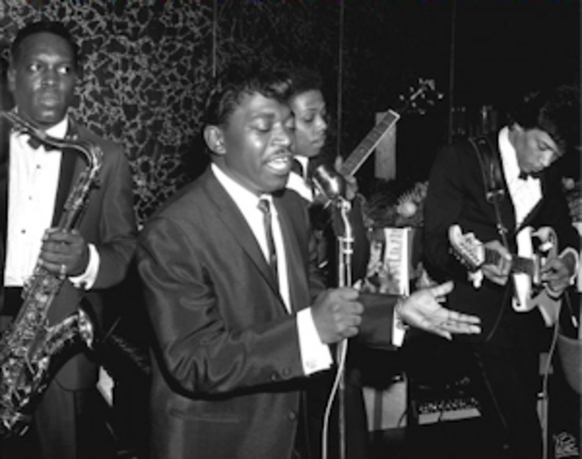 Percy Sledge, King Curtis with Jimi Hendrix