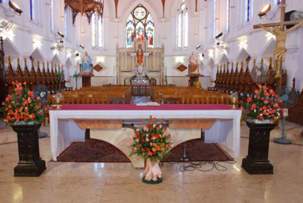 TOMB OF ST THOMAS IN CHENNAI, INDIA