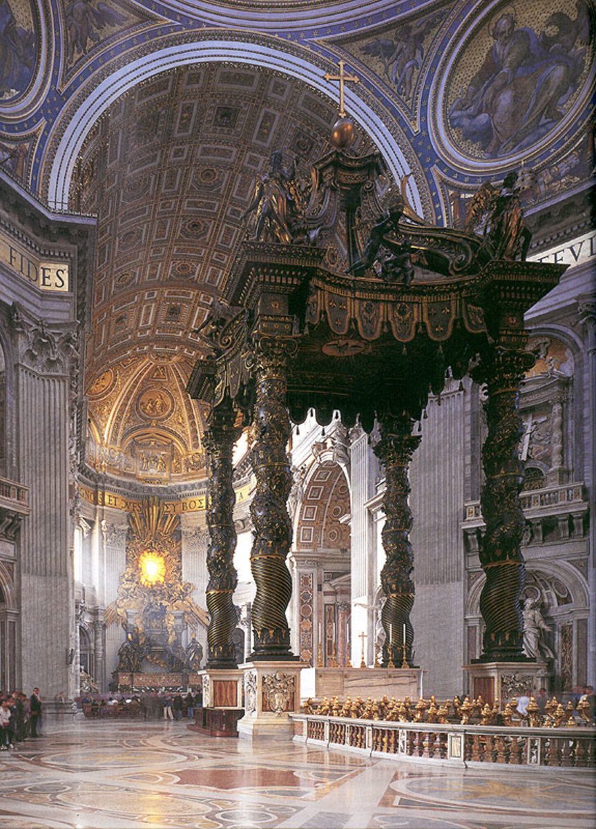 TOMB OF ST PETER AT THE VATICAN