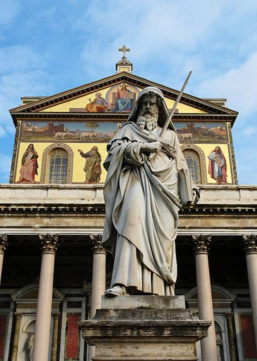 TOMB OF ST PAUL IN ROME