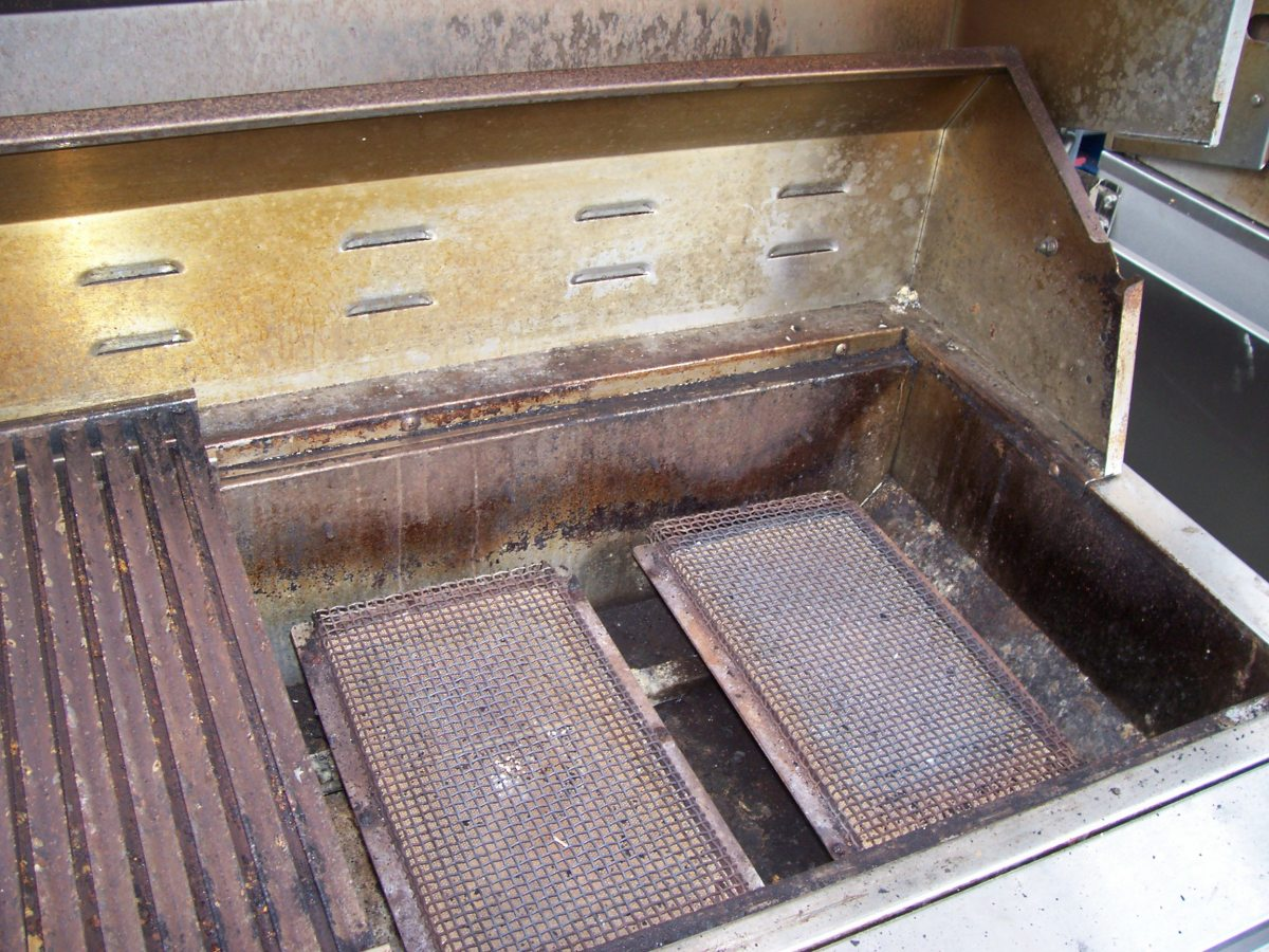 Infrared burners get so hot, they rarely need to be cleaned or replaced.