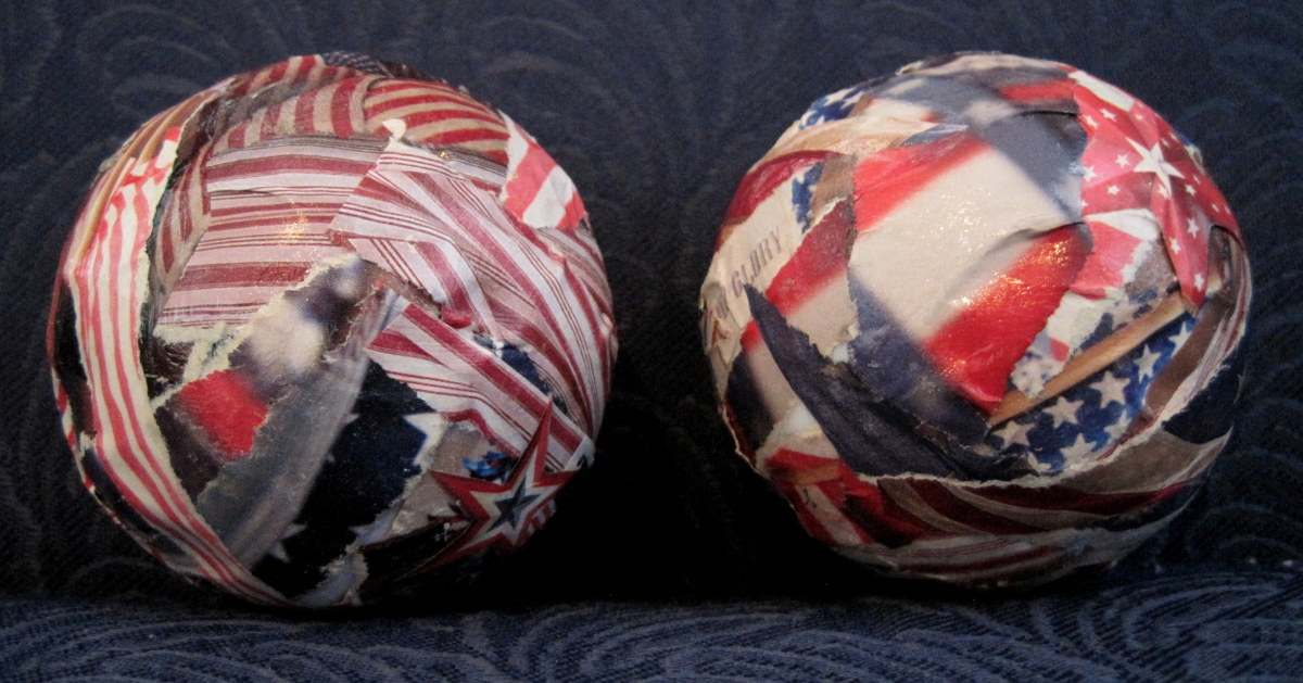 Red, White and Blue Country Home Decor