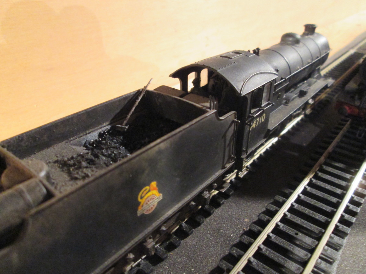 (Bachmann) Gresley Class J39 with Group Standard 4,200 Gallon tender - see J39 appraisal below. 64710 was a Darlington allocation in the 1950's