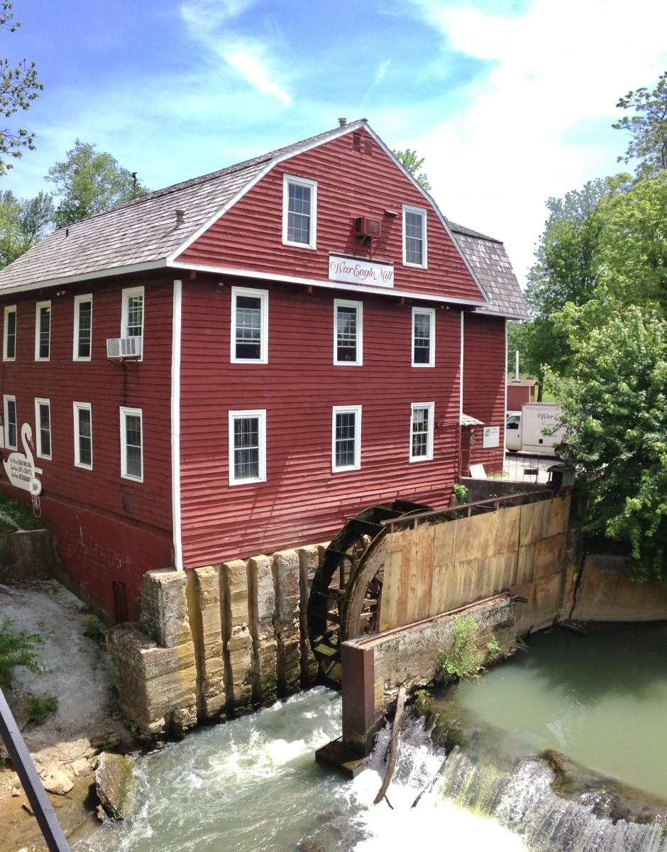 Mill at War Eagle