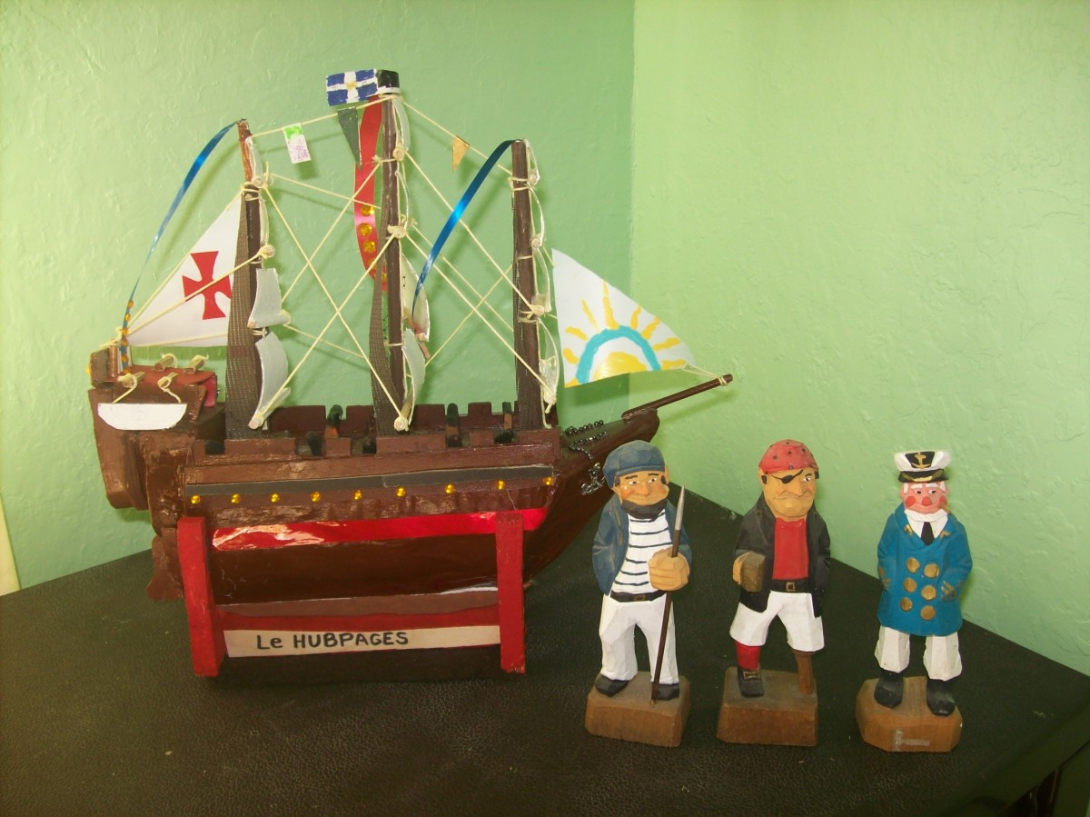 How to Build a Model Sailing Ship at Virtually No Cost