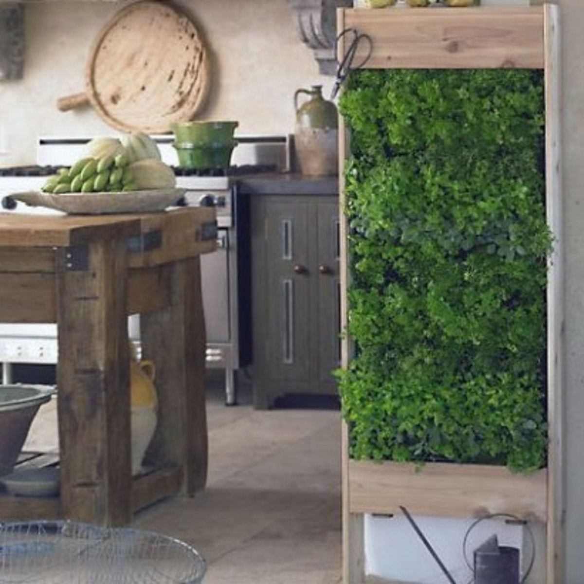 Vertical Herb Garden Design (photos from Design Squish Blog)