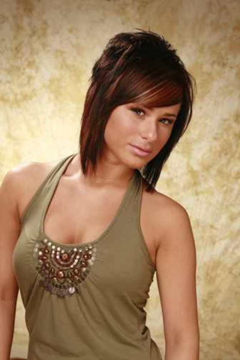 short razor cut hairstyles so nice looking with short bangs