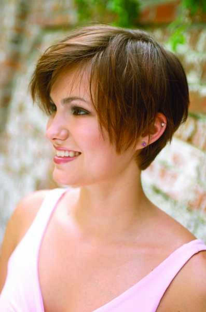 picture short hair cut style