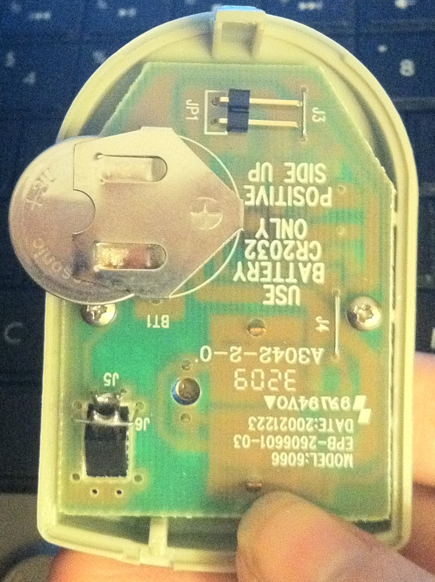 Install the battery by simply inserting it into the clip on the circuit board.