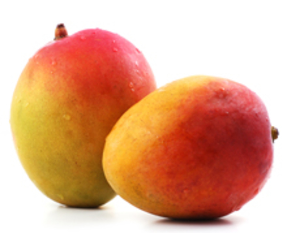 Mangos are a high source of Magnesium