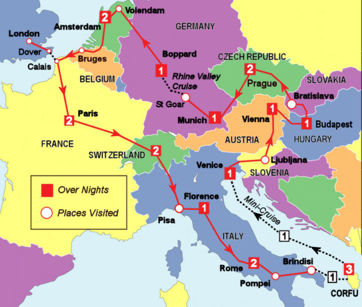 How To Travel Comfortably And Safely By Rail In Europe