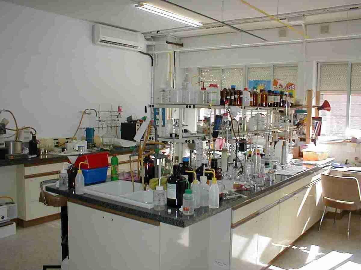 A modern laboratory.