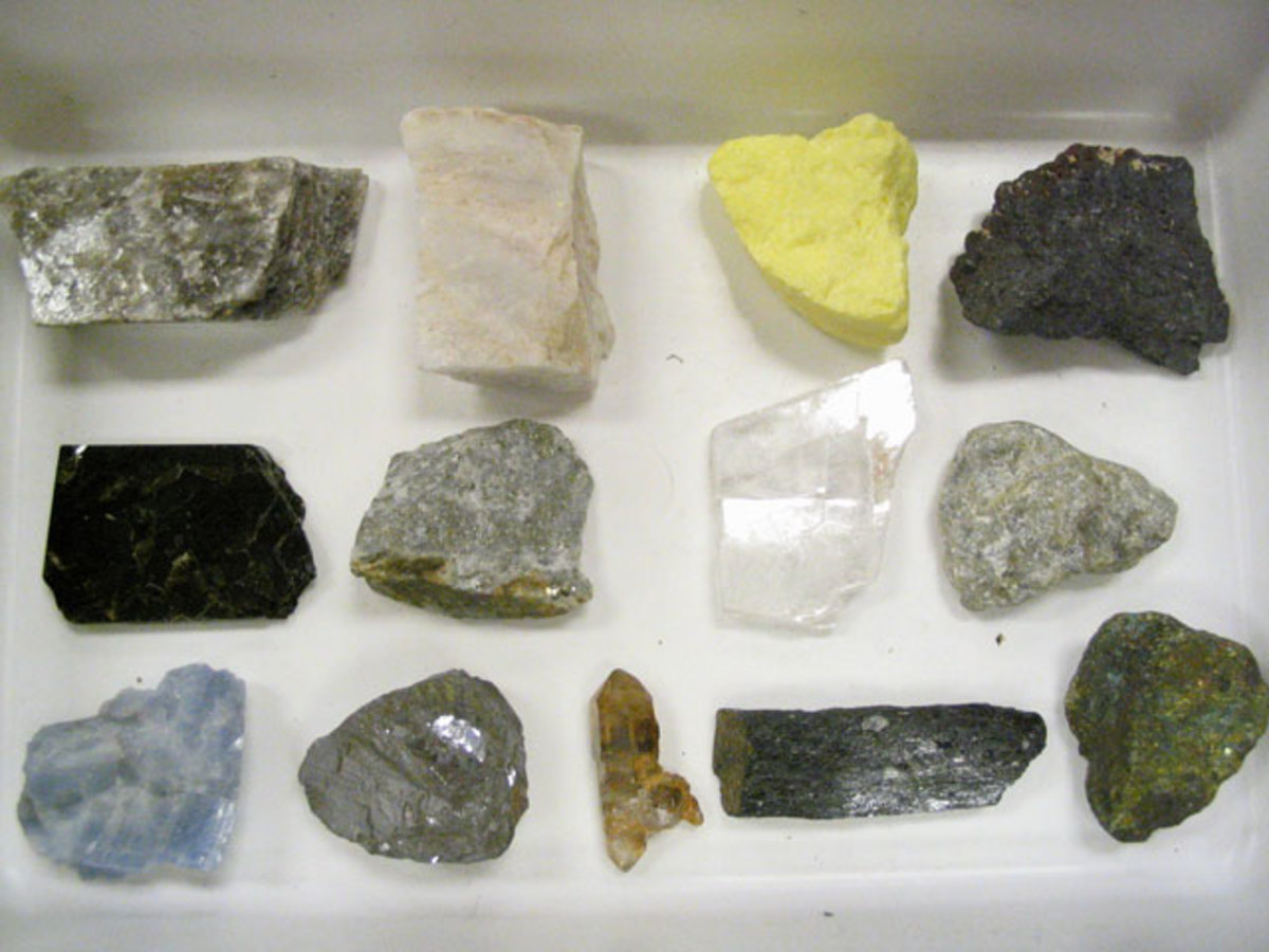 Minerals of the world.