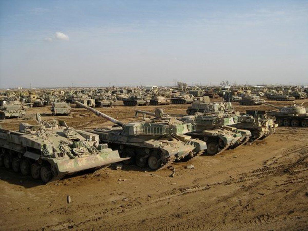 Iraq Tank Graveyard