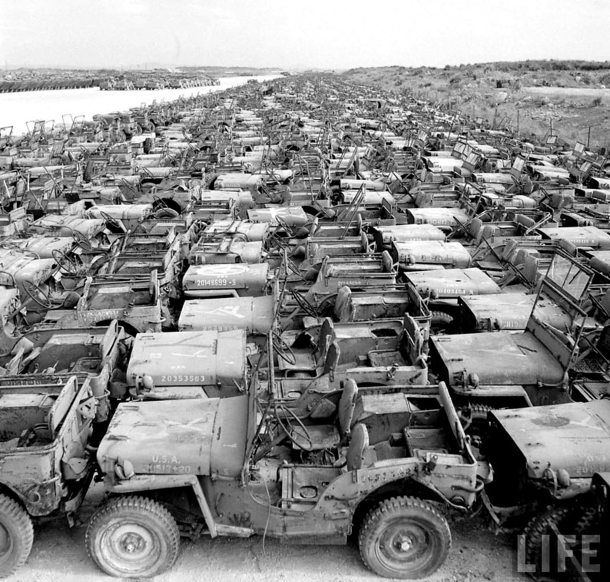 Military Junkyards And Graveyards For Scrap Vehicles