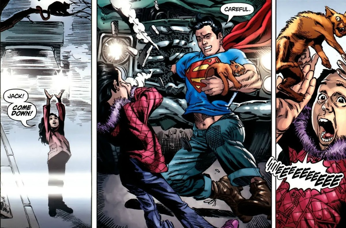 "Excerpt from DC's ""Action Comics"""