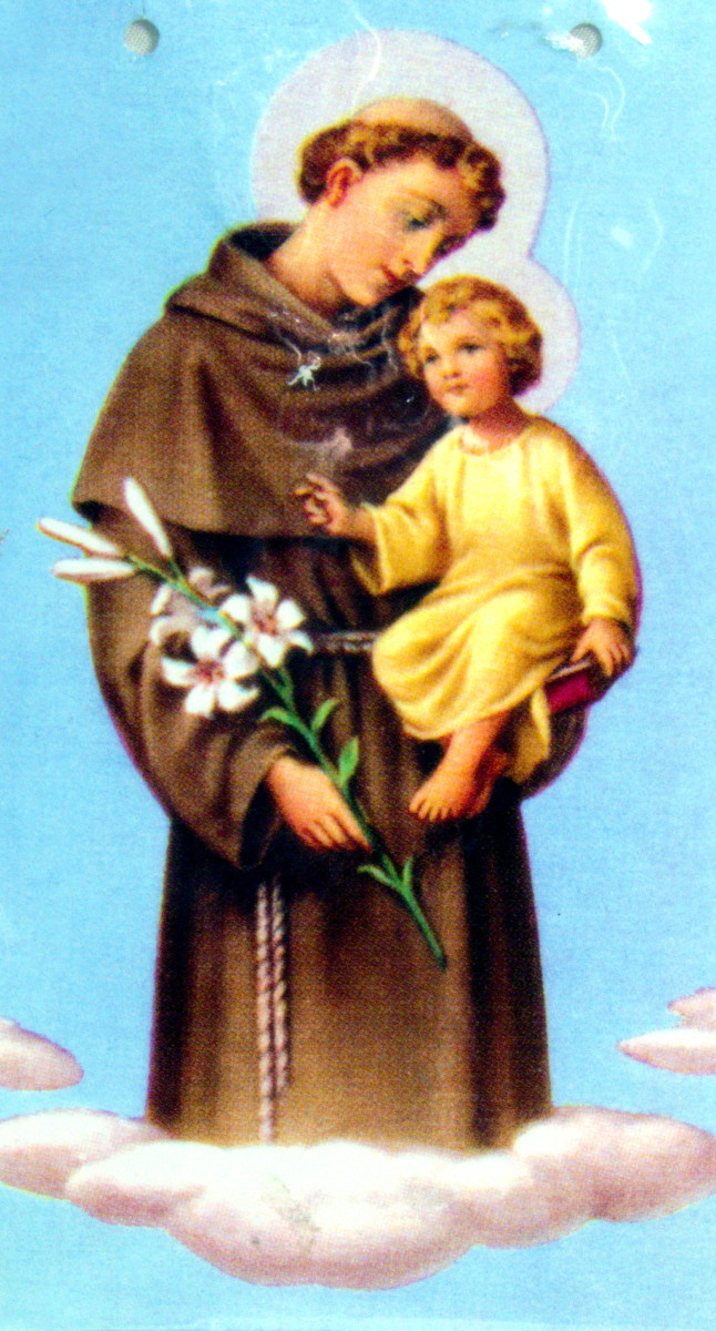 For over three centuries slaves had precious little choice but to use Catholic icons to represent the lwa. As they share tratis, the gentle St. Anthony came to represent Legba.