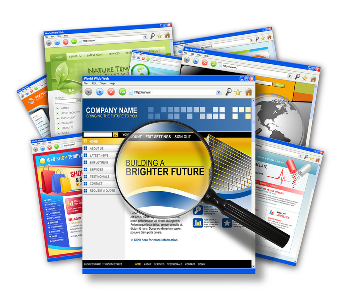 A Professional Online Presence Attracts Quality Clients
