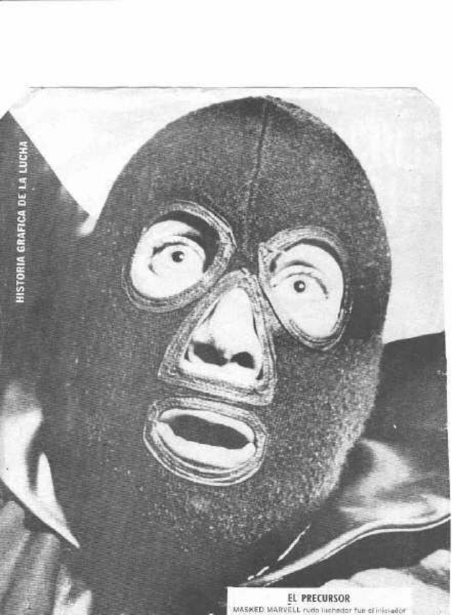 Ciclón Mackey, aka La Maravilla Enmascarada, The Masked Marvel