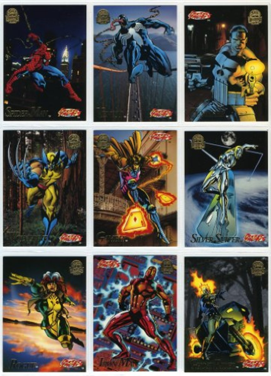 comic-book-trading-cards-a-look-back