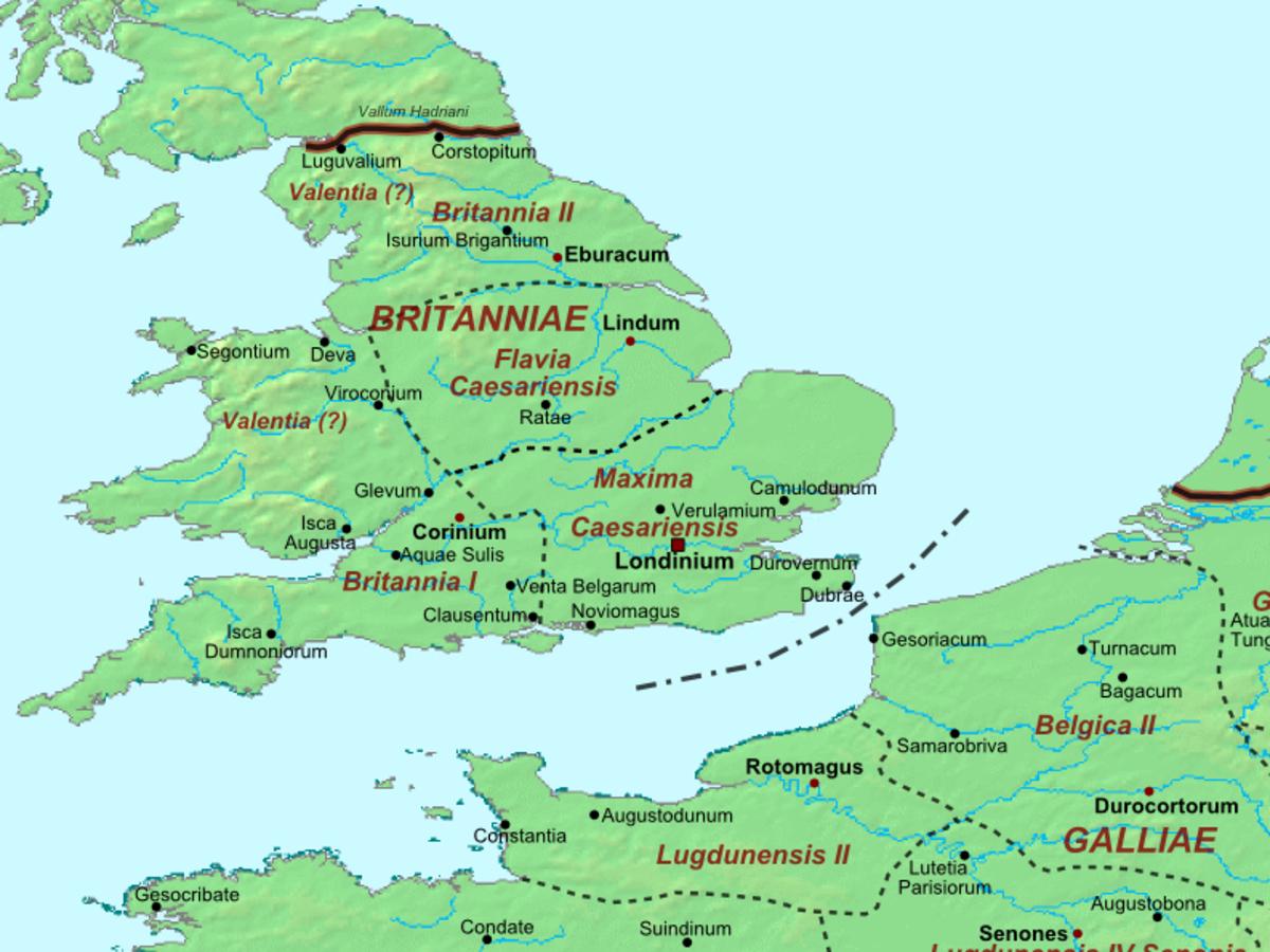 Map of Roman Britain