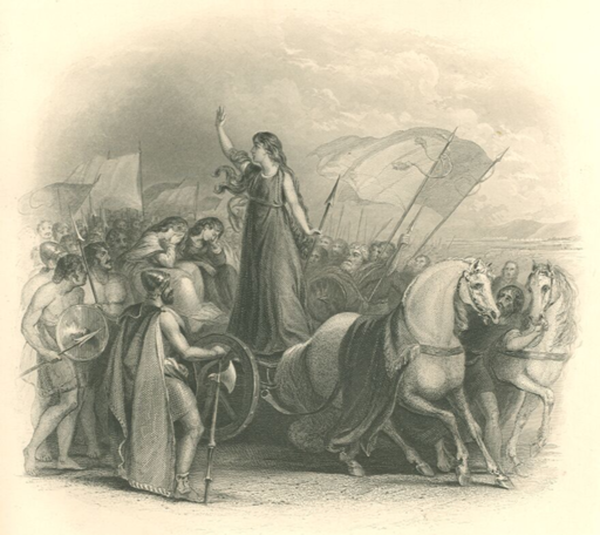 Boudicca Rallies her Forces