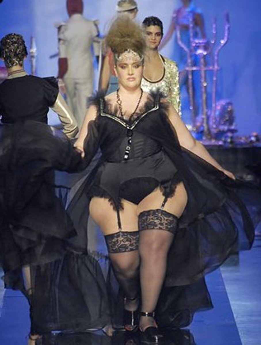 Paris Fashion Show in 2009