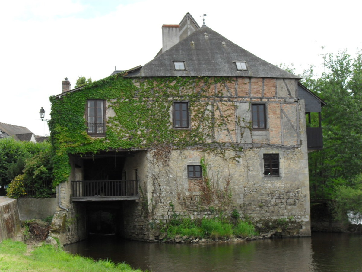 Mill on the Creuse River