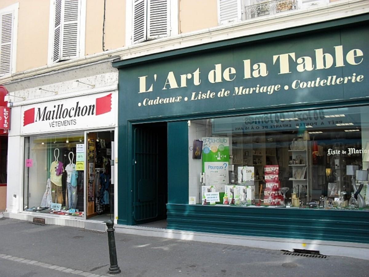 Argenton's Sur Creuse Comercial Centre