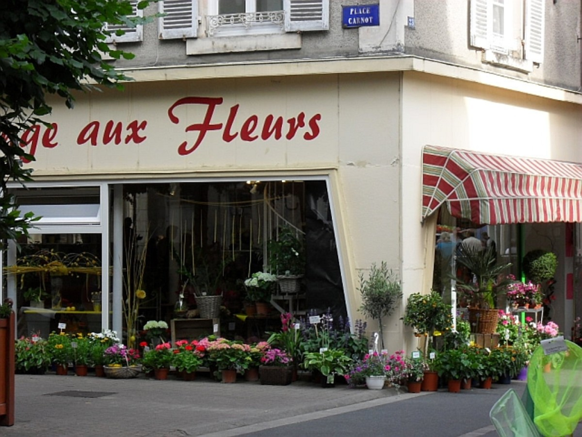 One of the 3 Flower shops in Argenton Sur Creuse