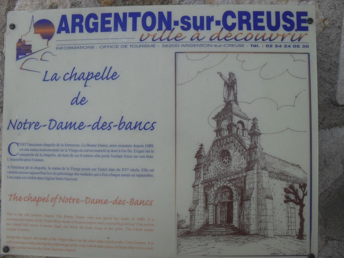 The Chapel of Notre Dame des Bancs in Argenton-sur-Creuse