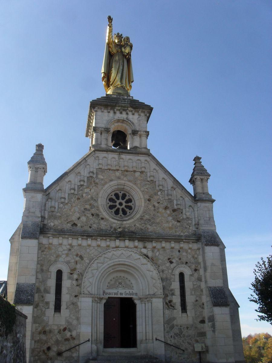 Chapel of the Bonne Dame.  November 2011