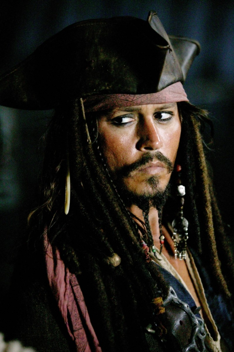 Top Ten Famous Pirates in the Movies - Pirates of the Carribean 2003