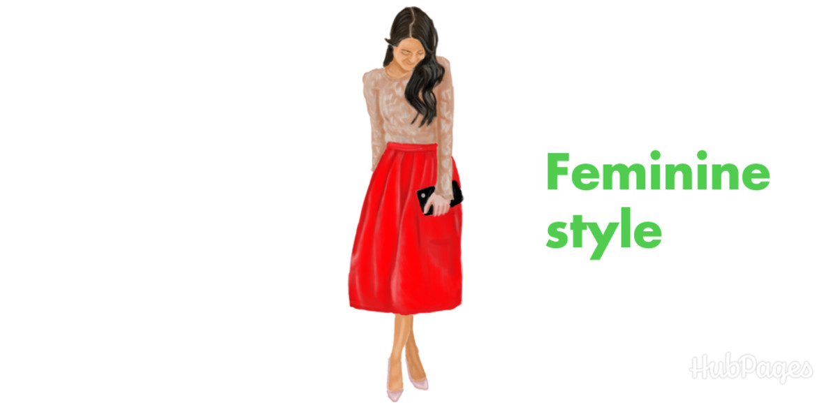 Go for a feminine style. Dress for romance with a dress or skirt.