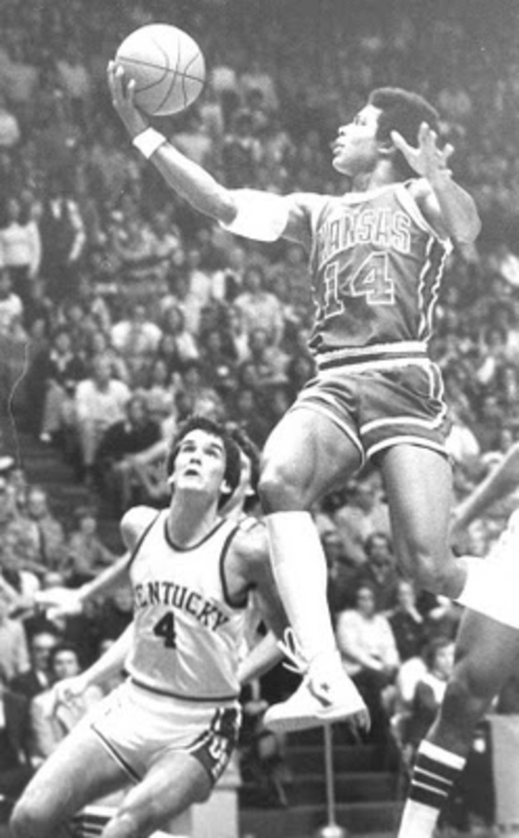 Darnell Valentine, seen here against Kentucky teamed with Tony Guy to beat a talented Arizona State team