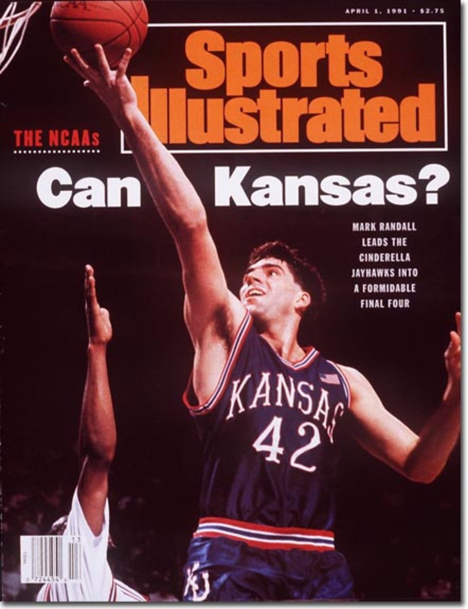 Mark Randall led an underdog KU team to victories over Indiana, Arkansas and North Carolina in 1991