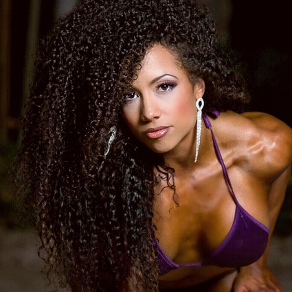 Bikini competitor Sondra Blockman