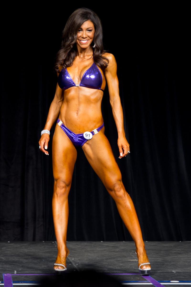 Janet Harding IFBB Bikini