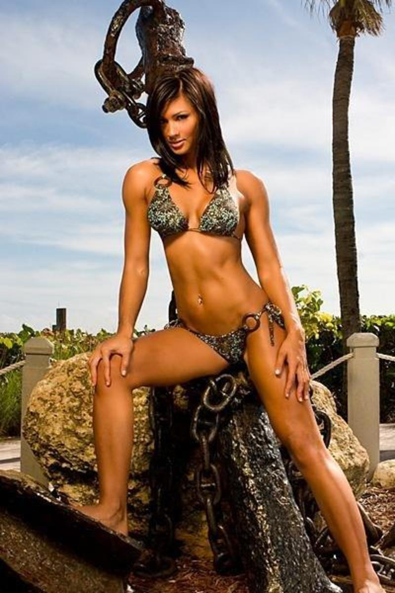 Monique (Minton) Ricardo IFBB Bikini