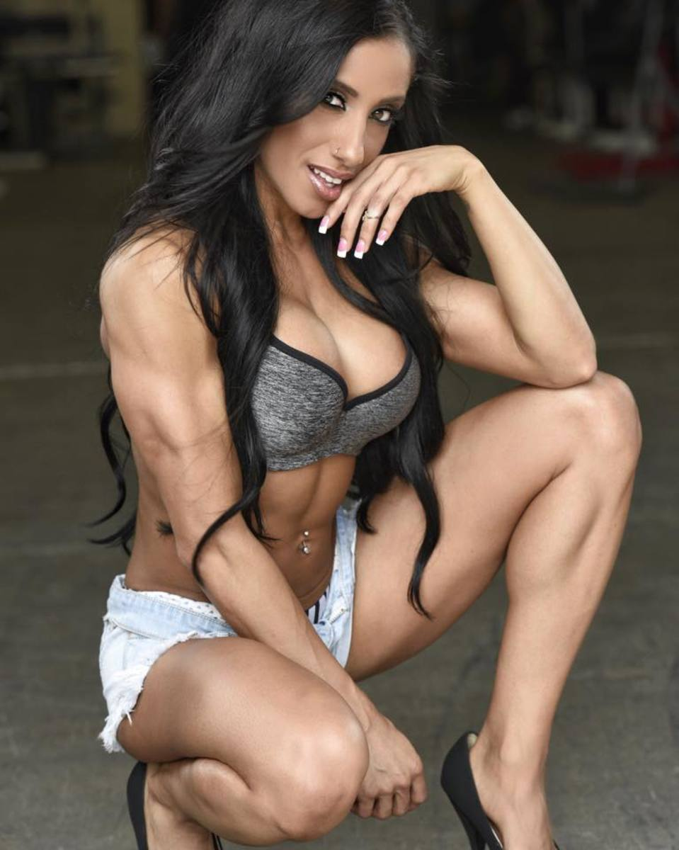 Thought pics of female body builders big boobs possible speak