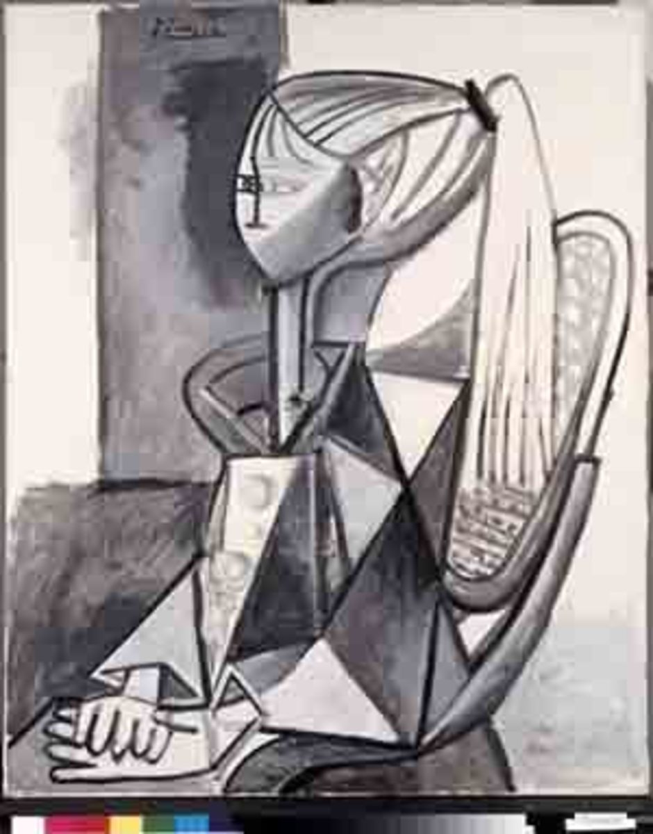 "Picasso's ""Portrait of Sylvette"""