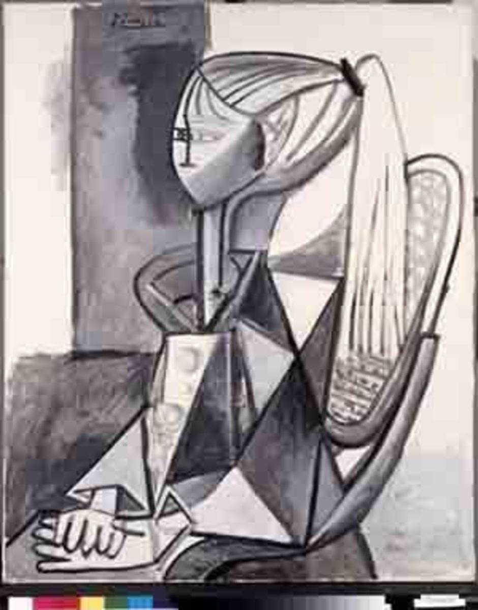 """Picasso's """"Portrait of Sylvette"""""""