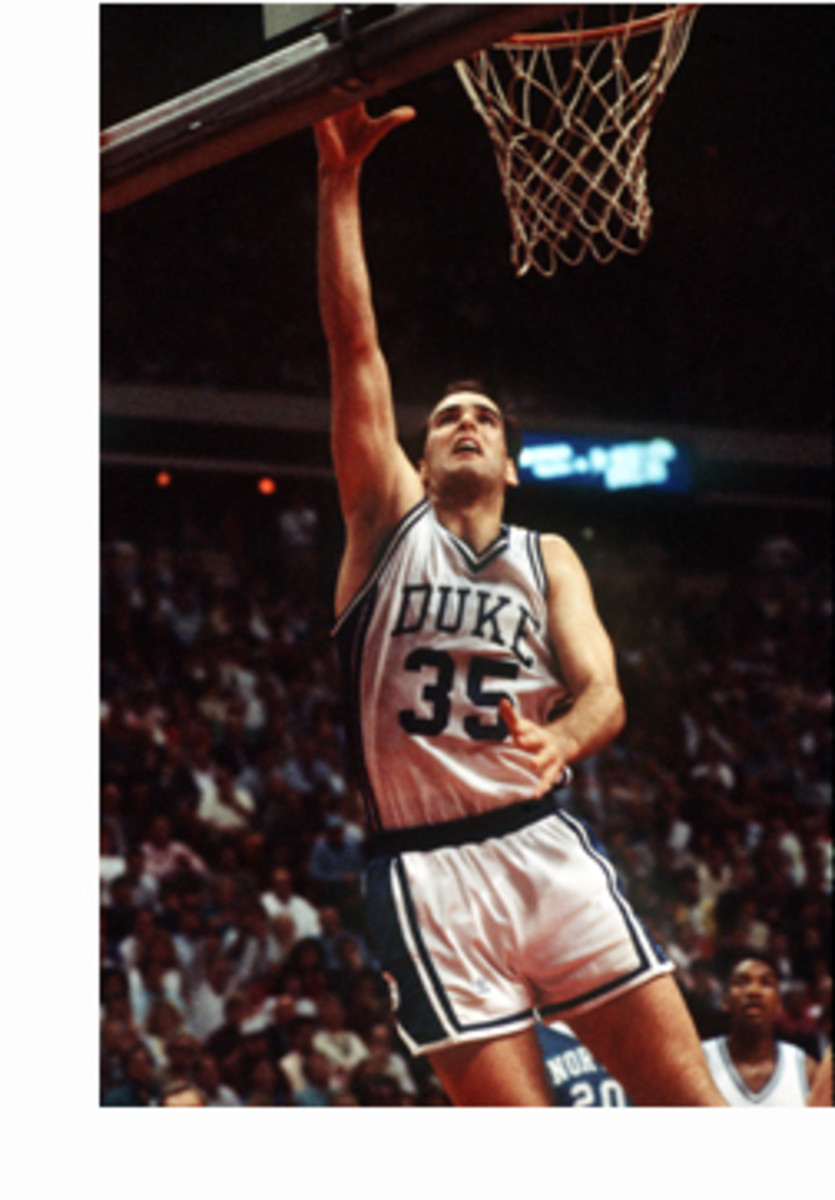 Danny Ferry was a worthy opponent for Manning and Kansas--he played against KU five times