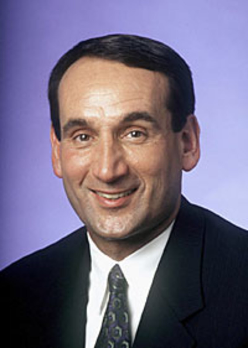Coach K has been the coach of Duke for each of their games against Kansas