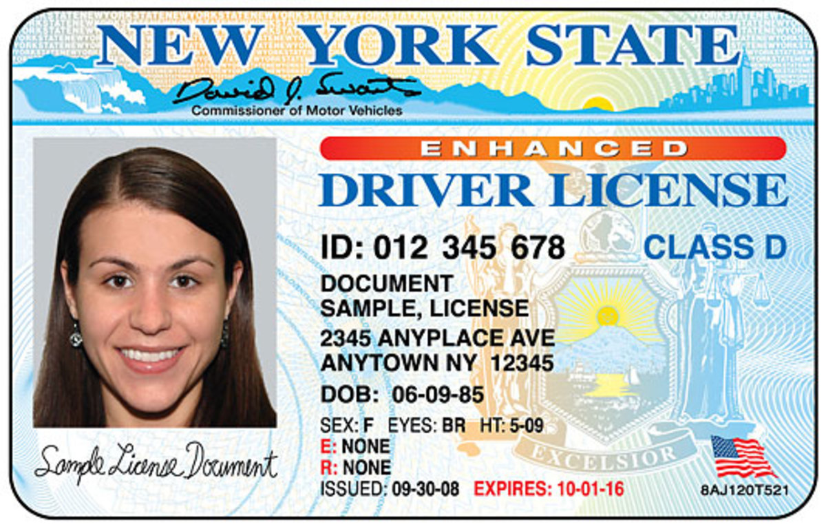 Texas Drivers License Template