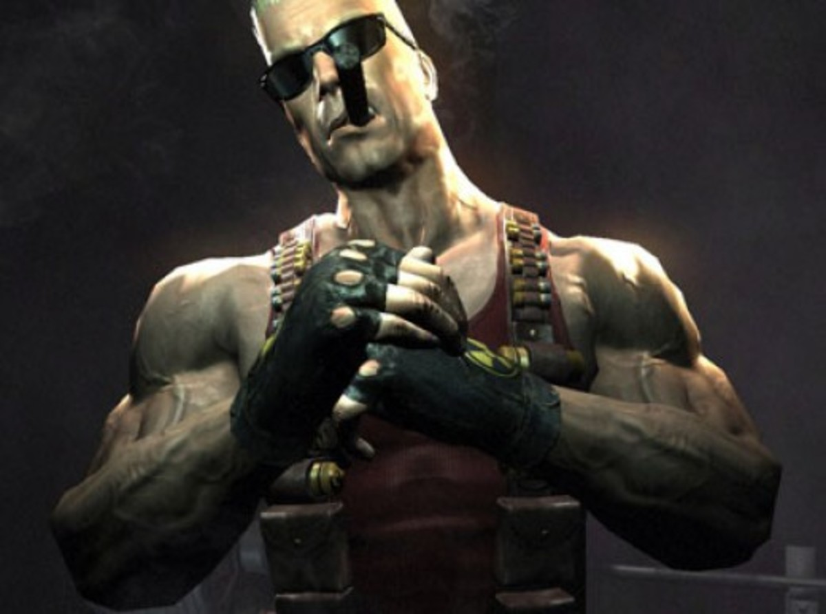 Duke Nukem in the 2007 DNF Teaser.