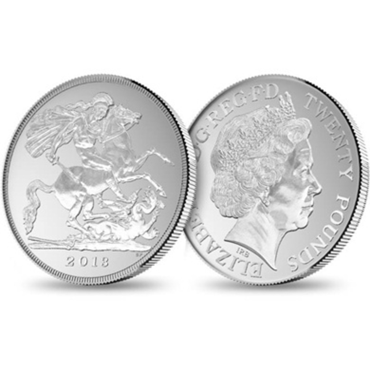New £20 sterling coin being issued October 2013