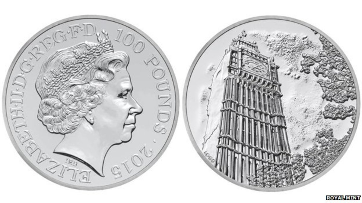 2015 One Hundred Pound Coin