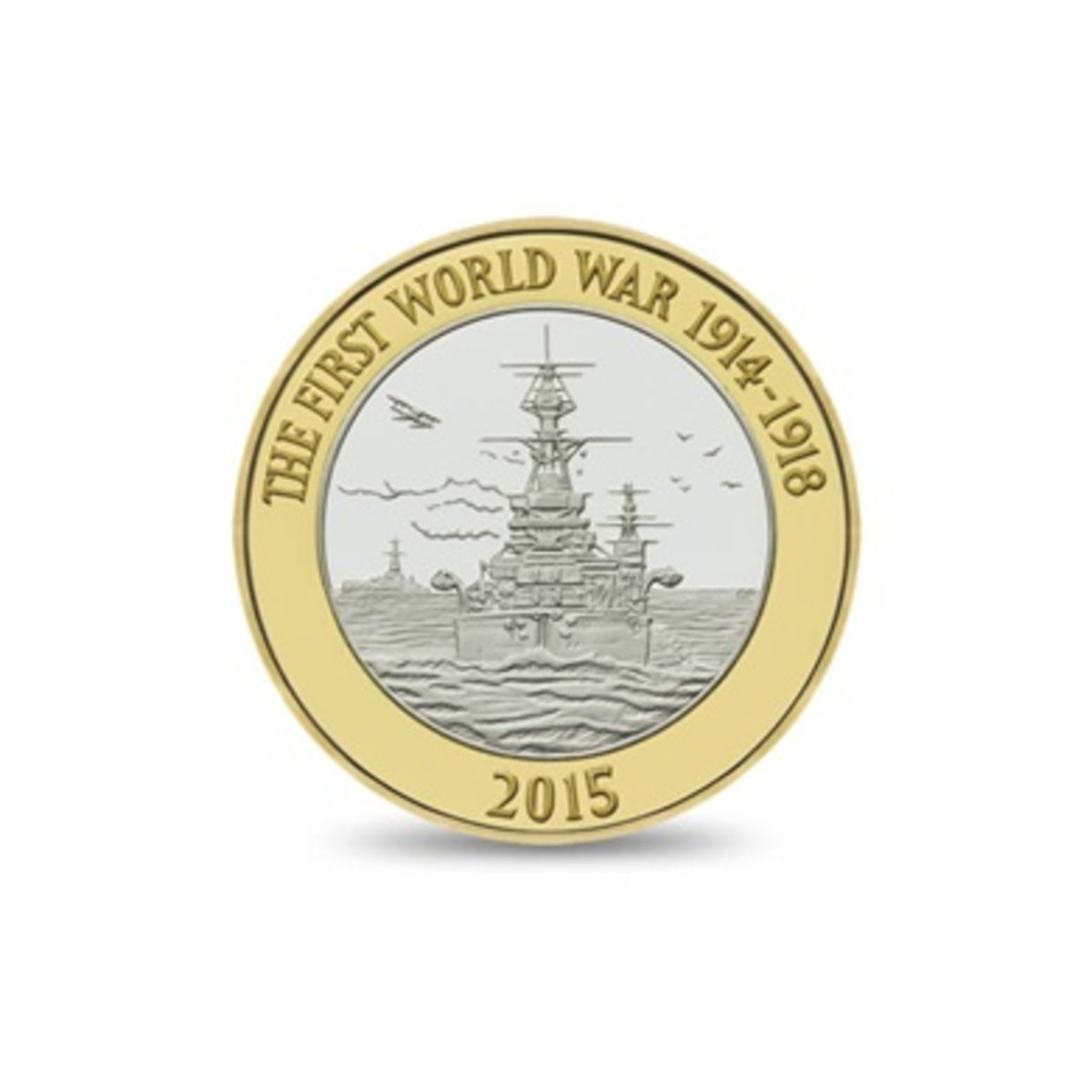 The Royal Navy 2015 £2 Coin