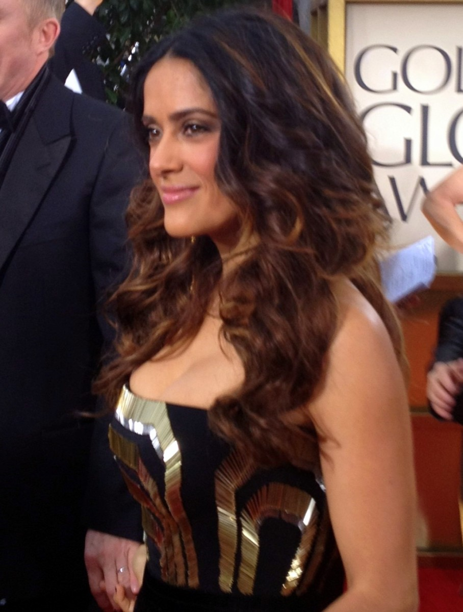 Shame on Salma Hayek for not cropping her tresses by age 45!
